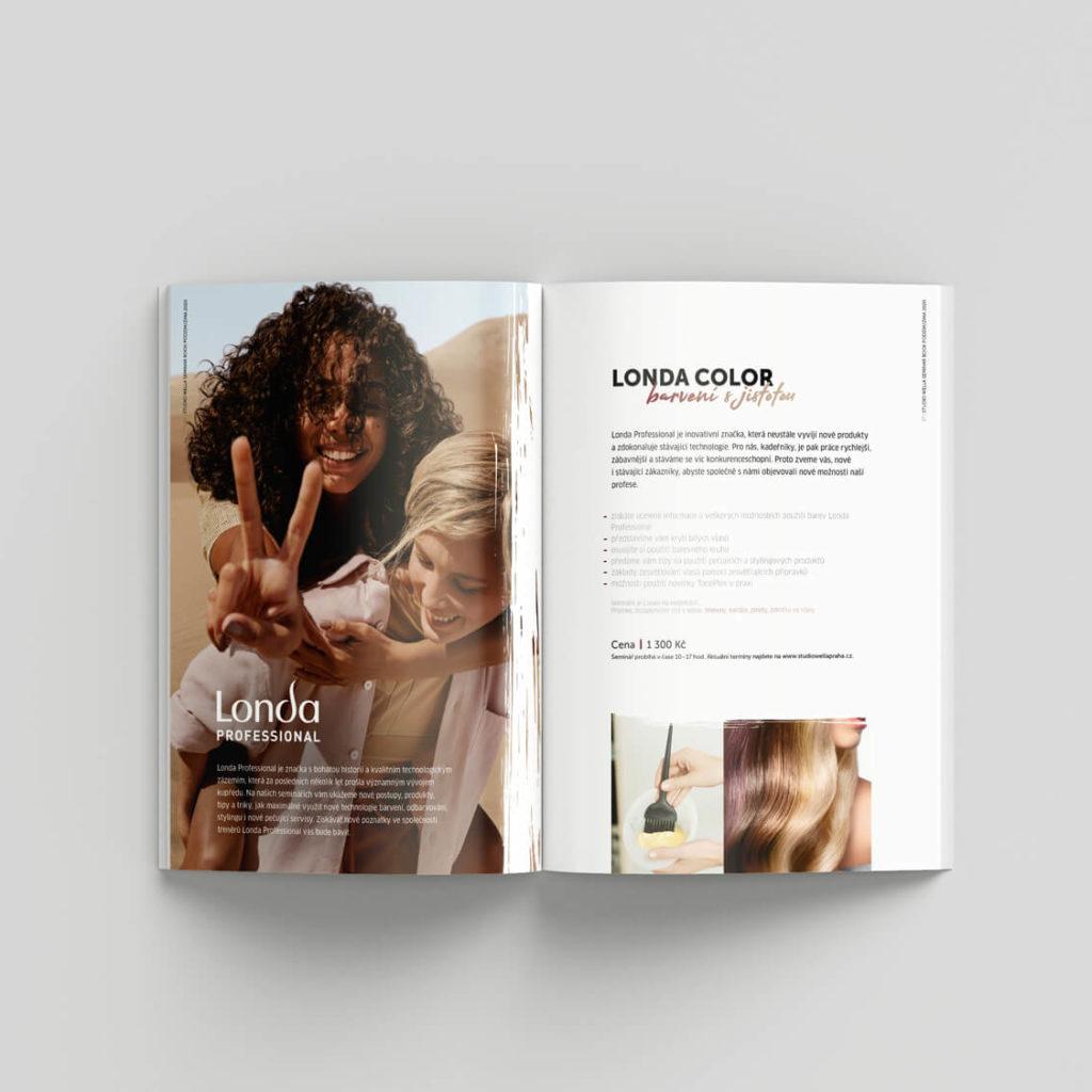 Studio Wella Praha Seminar book 2020